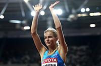 прыжки в длину, сборная России жен, Дарья Клишина, чемпионат мира по легкой атлетике