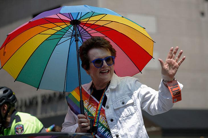 Теннис – главный ЛГБТ-спорт: лесбиянки построили женский тур, Федерер готов принять первого гея