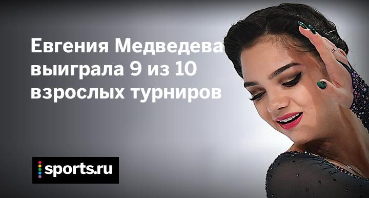 Евгения Медведева победительница финала Гран-при