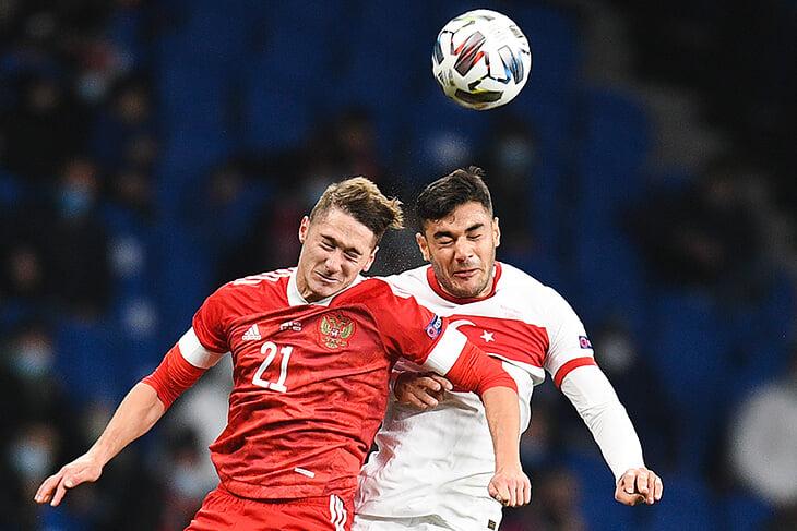 Антон Миранчук забивает во втором матче Лиги наций подряд