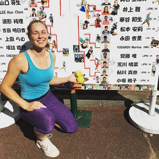 Она в 27 бросила карьеру инженера ради тенниса. Теперь ездит по мелким турнирам на плохих кортах – и кайфует