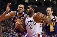 Юта, Торонто, Кавай Ленард, НБА, видео