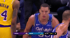 Aaron Gordon rocks the rim