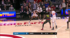Dewayne Dedmon Blocks in Atlanta Hawks vs. New York Knicks