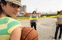 стритбол, любительский баскетбол