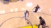 Andre Iguodala throws it down vs. the Trail Blazers