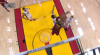 LeBron James throws down the alley-oop!