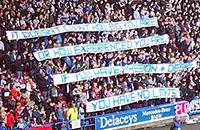 фото, премьер-лига Англия, Манчестер Юнайтед, Хаддерсфилд, болельщики, Жозе Моуринью, Дэвид Вагнер