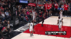 Damian Lillard with the big dunk