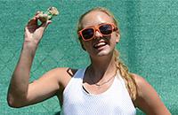 Анастасия Потапова, юниоры, Роджер Федерер, WTA, челленджеры и турниры ITF, Аманда Анисимова, Мария Шарапова