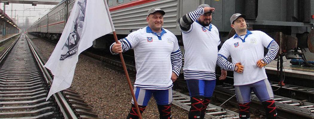 Путин поддержал проект «Сильнейшая нация мира»: там бьются на бревнах и тягают вагоны 🤷♂️