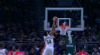 Anthony Davis with a huge block!