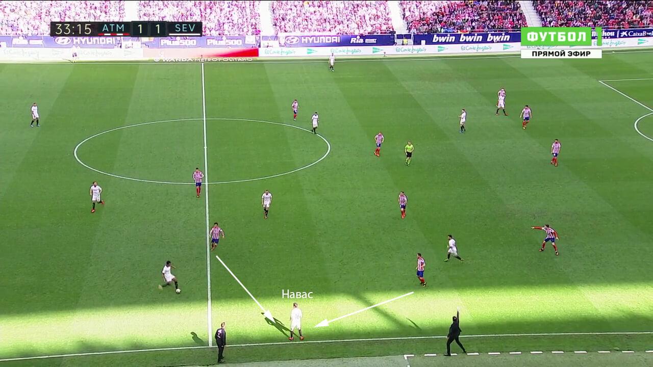 Как получать удовольствие от матчей «Атлетико»? Следите за фланговыми ловушками