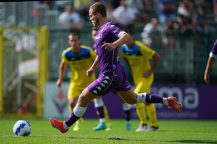 Празднуем первый гол Кокорина за «Фиорентину»  – с пенальти команде из Серии D (заработал сам)