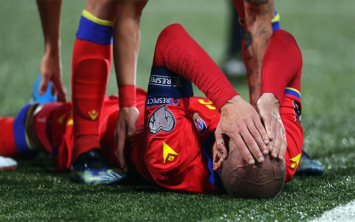 41-летний защитник Андорры сломался в погоне за Санчо. Лима играл еще против Онопко, из-за него удаляли Аршавина