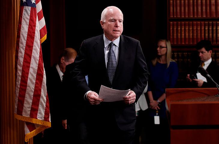 Бывший кандидат в президенты США Джон Маккейн долго пытался запретить MMA. Но только помог смешанным единоборствам