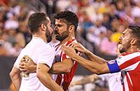 Тибо Куртуа, Атлетико, Диего Коста, International Champions Cup, Реал Мадрид, Серхио Рамос