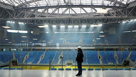 «Если на стадион придут аудиторы, никакого Кубка Конфедераций на нем не будет». Как воруют на стройке в Петербурге