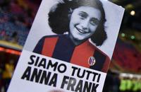 Игроки «Лацио» вышли в футболках с портретом Анны Франк