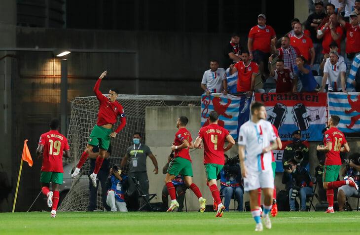Роналду хет-триком превратил Люксембург в свою любимую жертву – 9 голов. До этого были Литва и Швеция