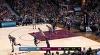 LeBron James with 15 Assists  vs. Denver Nuggets