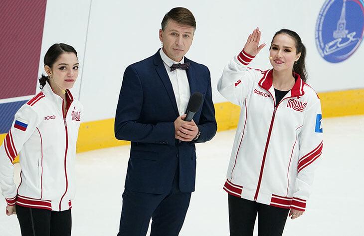 Медведеву и Загитову столкнули из-за дикции – одна москвичка, другая нет. Женя и правда говорит по-московски? А речь Алины хуже?
