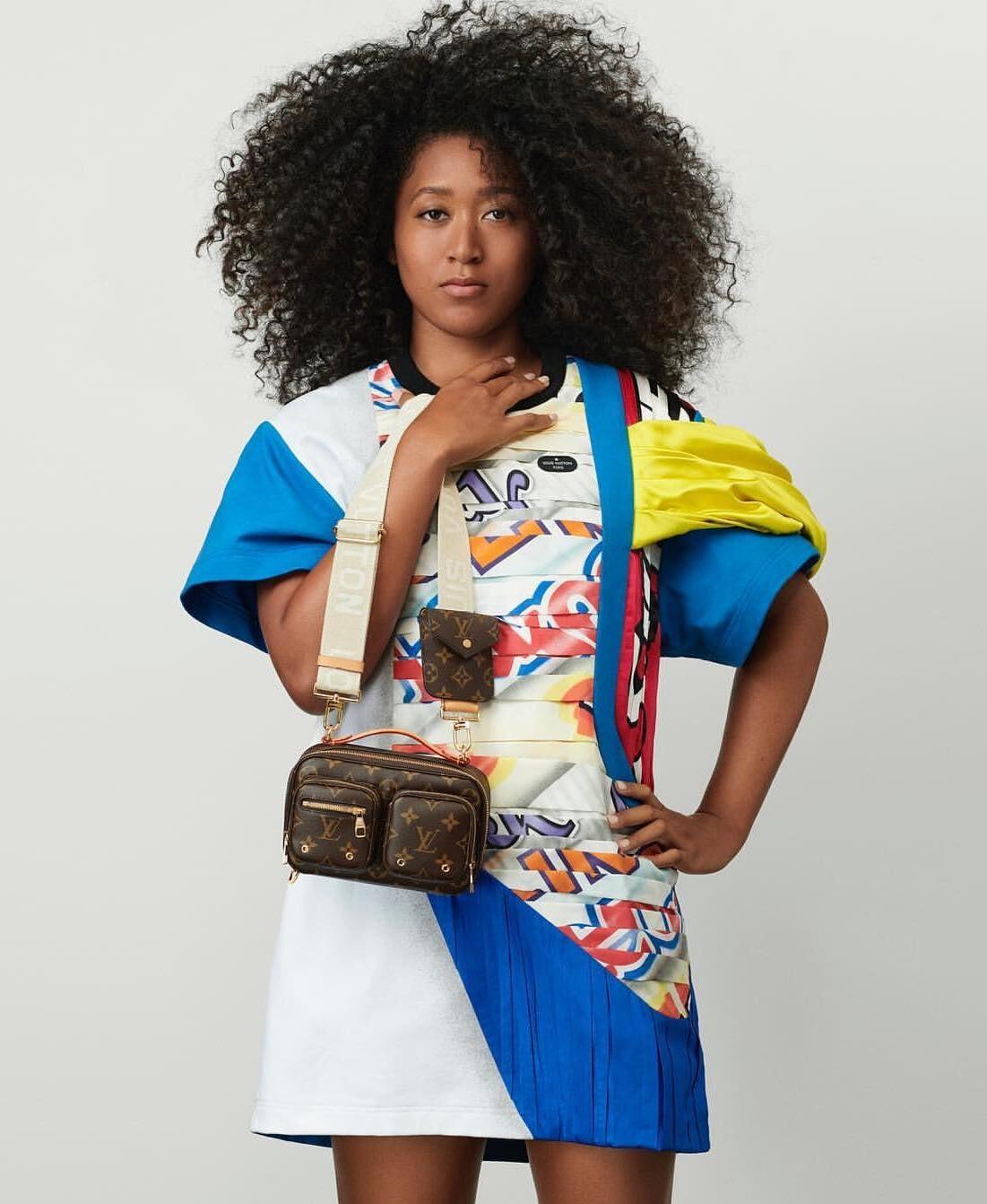 Louis Vuitton снимал в рекламе Пеле и Марадону, а теперь подписал Наоми Осаку и показал: спорт – это новый люкс