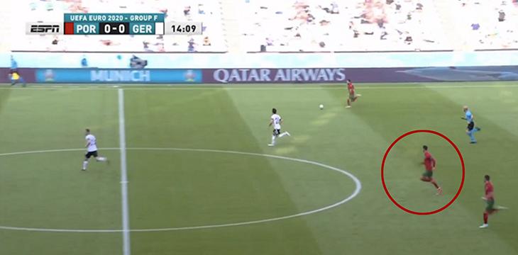 15 секунд, за которые Роналду начал контратаку, пробежал все поле и забил в пустые