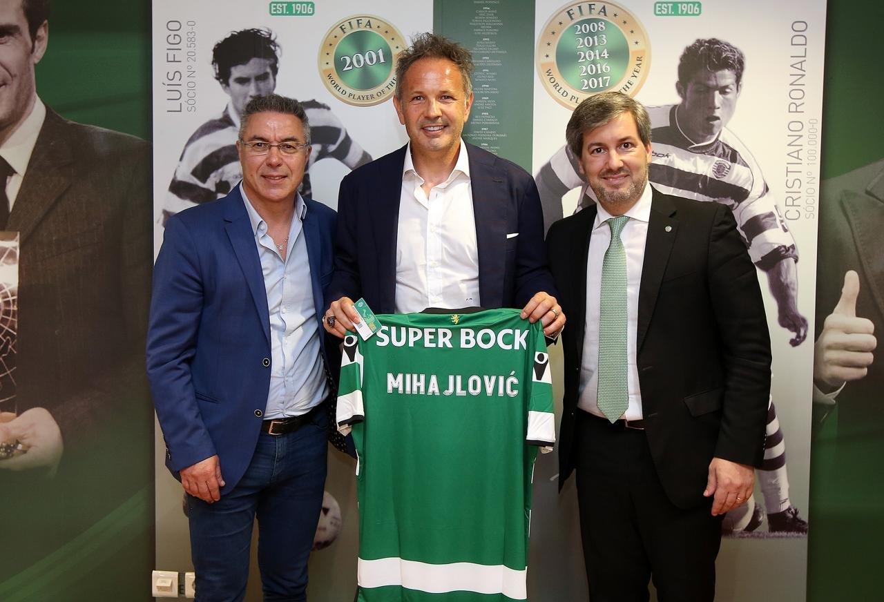 Sinişa Mixayloviç Portuqaliya klubu ilə 3 illik müqavilə imzaladı