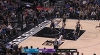 JaVale McGee with one of the day's best dunks