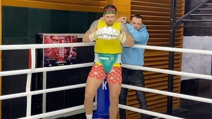 Украинский борец вызвал Усика на бой без правил. Александр согласился, но по правилам бокса