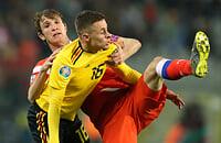 Играем с Бельгией: уже пропустили два гола от Азаров