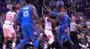 Josh Huestis with the huge dunk!