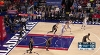 Justin Anderson with the nice dish vs. the Nets