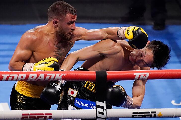 Ломаченко стер в порошок Накатани и вызвал на реванш Лопеса. Именно такого Василия хочется видеть в ринге