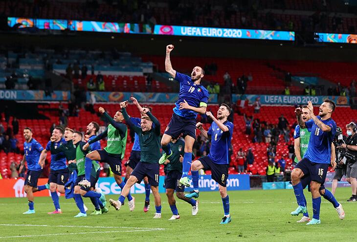 Италия гонится за лучшей серией в истории. Уже 31 матч без поражений, больше только у великих Бразилии и Испании