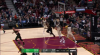 LeBron James rises up and throws it down