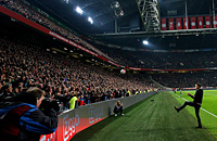 стадионы, стадион Фейеноорд, Д2 Нидерланды, болельщики, Витесс, Херенвен, Фейеноорд, Твенте, Аякс, ПСВ, высшая лига Нидерланды
