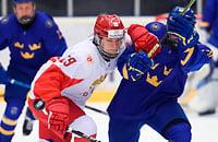 Родион Амиров, Ярослав Аскаров, сборная Швеции U18, Василий Подколзин, сборная России U18, юниорский ЧМ-2019