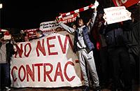 фото, Арсен Венгер, болельщики, Арсенал, Лига чемпионов, Бавария