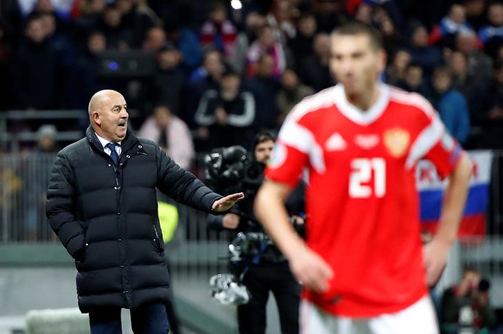«Сегодня я понял, что гимн России круче гимна Лиги чемпионов». Дзюба и Черчесов после 4:0