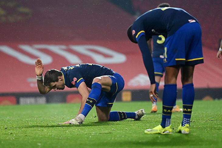 Новые 0:9 «Саутгемптона» (второй год подряд!) – теперь на «Олд Траффорд». «МЮ» не побеждал с таким счетом 26 лет