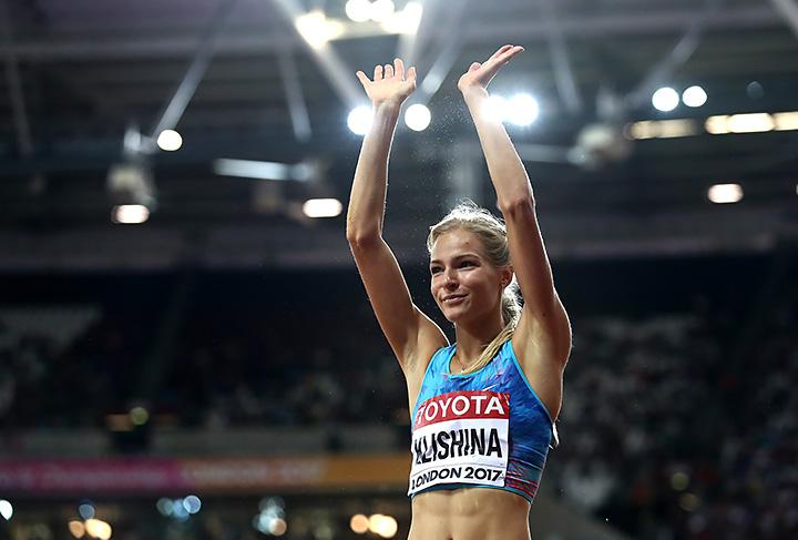 прыжки в длину, сборная России жен, Дарья Клишина, чемпионат мира
