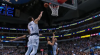 Dwight Powell skies for the big oop