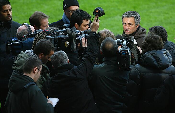 Вспоминаем Моуринью в Серии А: критиковал журналистов, провоцировал тренеров, доставалось и «Роме»