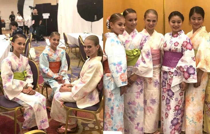 Японский образ Загитовой: гэта, оби, юката. Это совсем не классическое кимоно