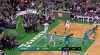 Kemba Walker with 11 Assists vs. Boston Celtics