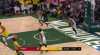 Giannis Antetokounmpo rocks the rim