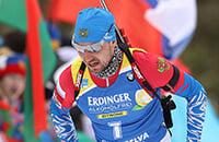 Онлайн спринта: пока биатлон не остановили, посмотрим на Логинова – может, это его последняя гонка?