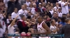 Serge Ibaka with the rejection vs. the Cavaliers
